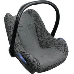 Pokrowiec do fotelika Dooky Seat Cover - Grey Leaves T-XP-126819