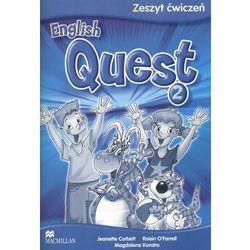 English Quest 2. Język angielski. Szkoła podstawowa. Zeszyt ćwiczeń (opr. miękka)