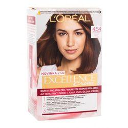 L´Oréal Paris Excellence Creme Triple Protection farba do włosów 48 ml dla kobiet 4,54 Natural Dark Copper Mahogany