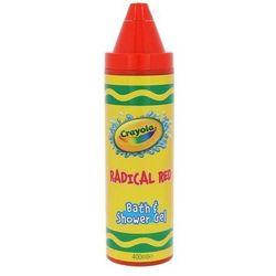 Crayola bath & shower gel żel pod prysznic dla dzieci 400ml (radical red)