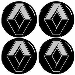 Emblematy silikonowe 56 mm na kołpaki do RENAULT