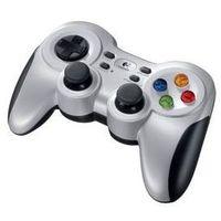 Gamepady, Gamepad Logitech F710 Wireless pro PC (940-000145) Srebrny