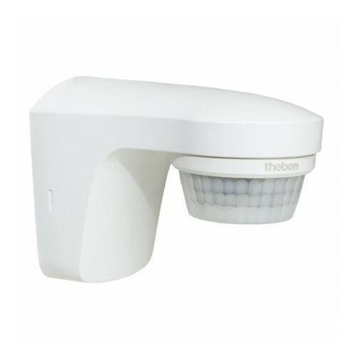 Czujki alarmowe, Zewnętrzny ruchomy naścienny czujnik ruchu 180st. IP55 theLuxa S180 biały TH-N 0240
