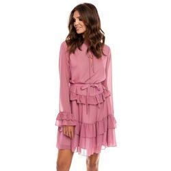 Sukienka Alyssa w kolorze brudnego różu