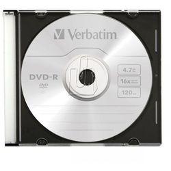 Verbatim DVD-R 4,7GB 16X SLIM CASE Darmowy odbiór w 20 miastach!