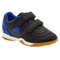 Chłopięce buty sportowe/ halówki American Club 28/20 Royal - Czarny ||Niebieski