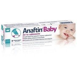 Anaftin Baby, Żel na ząbkowanie, 10 ml - Długi termin ważności! DARMOWA DOSTAWA od 39,99zł do 2kg!