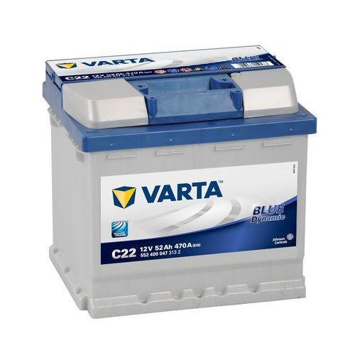 Akumulatory samochodowe, Akumulator VARTA BLUE DYNAMIC C22