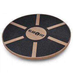 KLARFIT Balance Board Klarfit <150kg średnica 37,5cmdrewno MDF