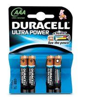 Baterie, Duracell AAA Ultra Power (4pcs) Alkaliczny 1.5V bateria jednorazowa