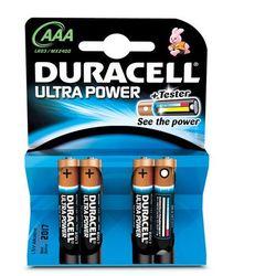Duracell AAA Ultra Power (4pcs) Alkaliczny 1.5V bateria jednorazowa