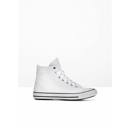 Męskie obuwie sportowe, Wysokie sneakersy bonprix biały