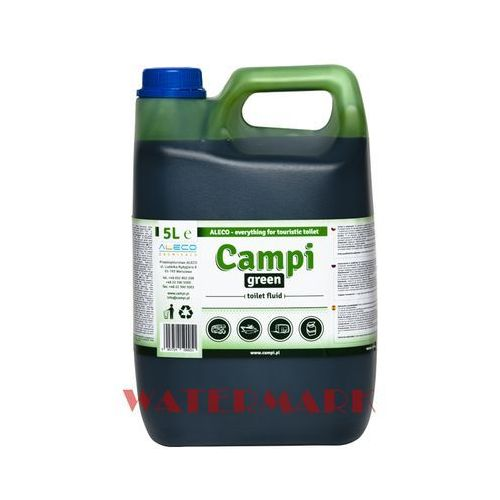 Pozostałe do czyszczenia armatury, Campi Green do wc turystycznych przenośnych 5l płyn do toalet kempingowych