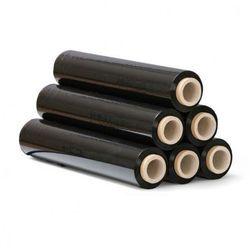 Folia stretch czarna, 23 mic, 500 mm x 300 m, 6 szt.
