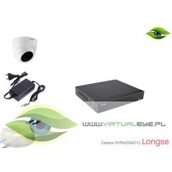 Zestaw do monitoringu AHD 1080P Longse XVRA2004D12