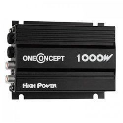 oneConcept X4-A4 4-kanałowy kompaktowy wzmacniacz 4x30 W RMS czarny