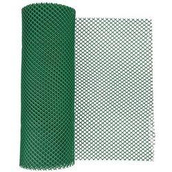 Siatka ogrodzeniowa z tworzywa sztucznego typ 201 zielona 40 cm x 500 cm