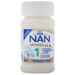 NESTLE NAN OPTIPRO HA 1 90ml Mleko początkowe hipoalergiczne w płynie dla dzieci od urodzenia, butel