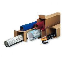 Przybory do pakowania, Tuba wysyłkowa kwadratowa, 5-warstwa, 800x150x150 mm, 30 szt
