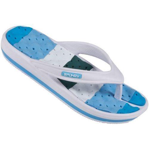 Pozostałe sporty wodne, Klapki basenowe SPOKEY Medusa Niebiesko-Biały (rozmiar 41)