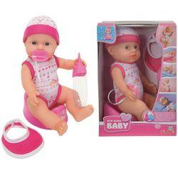 SIMBA Lalka New Born Baby mini zestaw