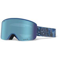 Giro Axis Gogle Mężczyźni, pow/vivid royal/vivid infrared 2020 Gogle narciarskie