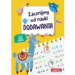 Zacznijmy od nauki dodawania - książka (opr. broszurowa)
