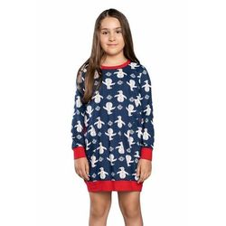 Koszula dziewczęca Malika niebieska