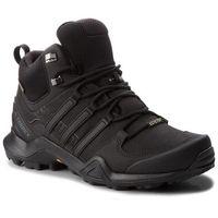 Męskie obuwie sportowe, Buty adidas - Terrex Swift R2 Mid Gtx GORE-TEX CM7500 Cblack/Cblack/Cblack