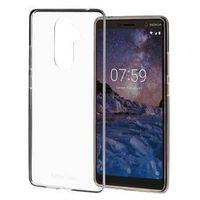 Etui i futerały do telefonów, Etui NOKIA CC-708 Premium do Nokia 7 Plus Przezroczysty