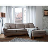 Narożniki, Narożnik jasnobrązowy - kanapa - sofa - narożna - wypoczynek - NEXO