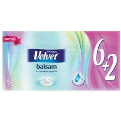 VELVET 8x9szt Balsam Chusteczki higieniczne o kremowym zapachu