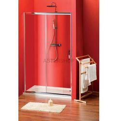 SIGMA drzwi prysznicowe do wnęki 120cm szkło czyste SG1242