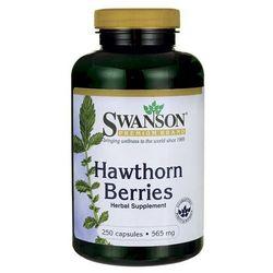 Swanson Głóg owoce 565mg (Hawthorn Beries) 250 kaps.