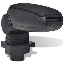 Czarny podłokietnik do samochodu Skoda Fabia MK1 (1999 - 2007)
