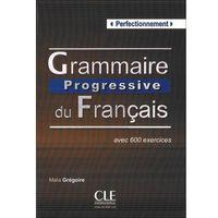 Książki do nauki języka, Grammaire Progressive Du Francais Perfectionnement Książka (opr. miękka)