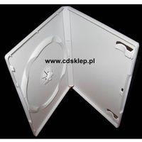 Pudełka i portfele na płyty, Etui plastikowe na 1DVD 14mm białe