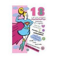 Pozostałe artykuły papiernicze, Karnet B6 Urodziny - 18-stka dziewczyny