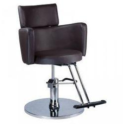 Fotel Fryzjerski Luigi Br-3927 Brązowy