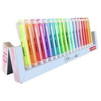 Mazaki i flamastry, Zakreślacz Swing Cool + Pastel podstawka 18 kolor.