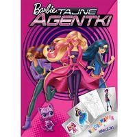 Kolorowanki, Barbie Tajne Agentki. Kolorowanka i naklejki - Ameet