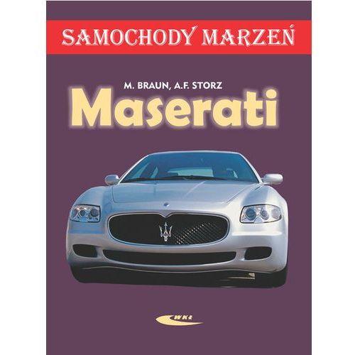 Biblioteka motoryzacji, Maserati. Samochody marzeń (opr. twarda)