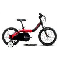 Rowery dziecięce i młodzieżowe, Rower dla dzieci rosnący ORBEA GROW 1 - 1V koła 16' czarno-czerwony