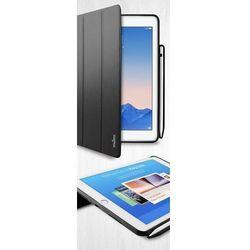 "Puro Zeta Pro Etui Pokrowiec iPad Pro 9,7"" / iPad Air 2 (Czarny) + Pencil Holder"