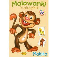 Książki dla dzieci, Małpka Malowanki maluszka - Wysyłka od 3,99 - porównuj ceny z wysyłką (opr. miękka)