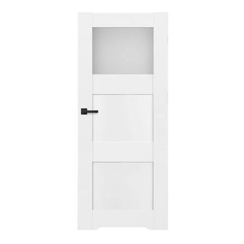 Drzwi wewnętrzne, Drzwi z podcięciem Tre 70 prawe białe