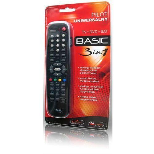 Piloty multimedialne i uniwersalne, Pilot uniwersalny ELMAK BASIC 3w1 TV, SAT (rłwnieź DVB-T), D
