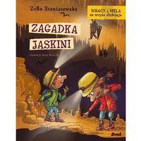 Książki dla dzieci, Ignacy i Mela na tropie złodzieja. Zagadka jaskini (opr. twarda)
