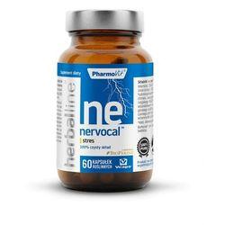 Nervocal z dodatkiem BioPerine 60 kapsułek Vcaps PharmoVit Herballine
