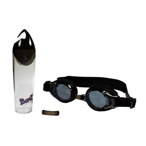 Okularki pływackie, Okulary do pływania basen dzieci Anti-Fog 3+ BANZ - Black